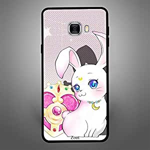 Samsung Galaxy C7 Rabbit Moon