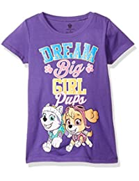 Nickelodeon girls Little Girls Paw Patrol Pups Dream Big the Princess Tee