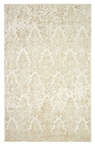 DynamicRugs ML9129403600 9401 Milan Collection 8 x 11 in. Transitional Rectangle Rug, Chocolate (Chocolate Transitional Rug)