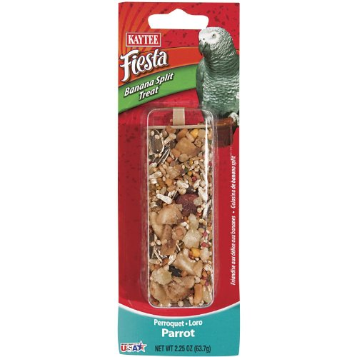 Kaytee Fiesta Banana Split Large Bird Treat Stick, 2.25-oz