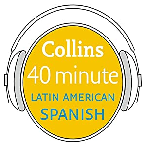 Spanish in 40 Minutes Audiobook