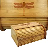 Cookbook People Dragonfly Bamboo Bread Box