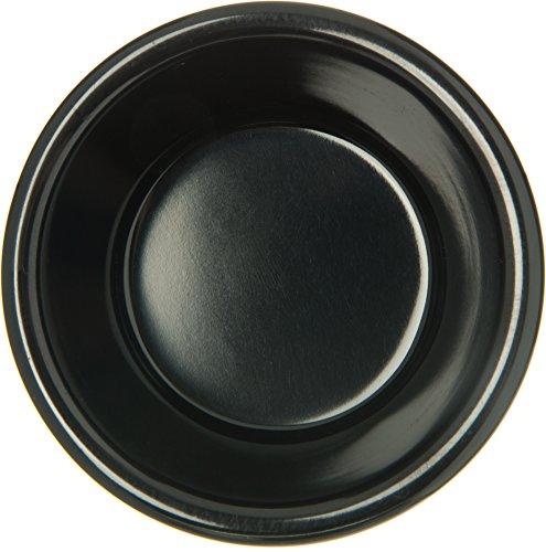 Carlisle S28203 Melamine Fluted Ramekin, 3 oz. Capacity, Black (Case of 48) by Carlisle (Image #2)