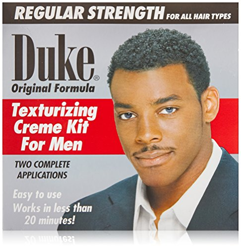 Duke Texturizing Creme Kit for Men Regular, 2 (Texturizing Creme)