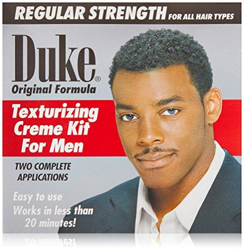 Duke Texturizing Creme Kit for Men Regular, 2 Count Creme Texturizing Kit