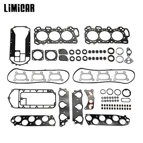 LIMICAR Cylinder Head Gasket Set Compatible w/ 05-10 Odyssey J35A6 05-08 Acura RL 3.5L V6 J35A8 06-08 Pilot Ridgeline J35A9 J35A9 04-08 Acura TL J32A3 03-06 Acura MDX J35A5 24V HS26265PT-1