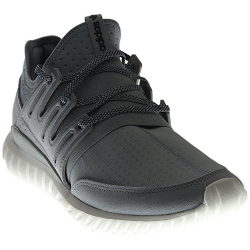 Originali Adidas Mens Tubolare Grigio Sneaker Modo Radiale