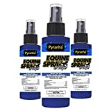 Product review for Pyranha Equine Spray & Wipe 4oz. Water-Based Fly Spray & Pest Repellent (3-PACK)