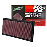 K&N 33-2857 High Performance Replacement Air Filter