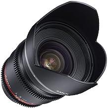 Rokinon DS16M-NEX 16mm T2.2 Cine Wide Angle Lens for Sony Alpha E-Mount Interchangeable Lens Cameras