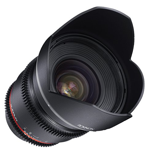 Rokinon DS16M-MFT 16mm T2.2 Cine Wide Angle Lens for Olympus and Panasonic Micro Four Thirds