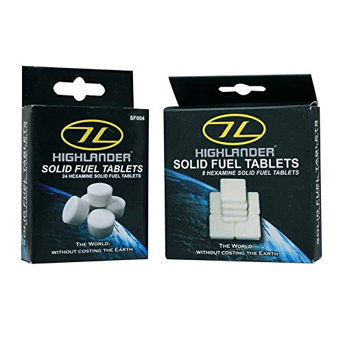 Solid Fuel Tablets - 8 Pack (White)
