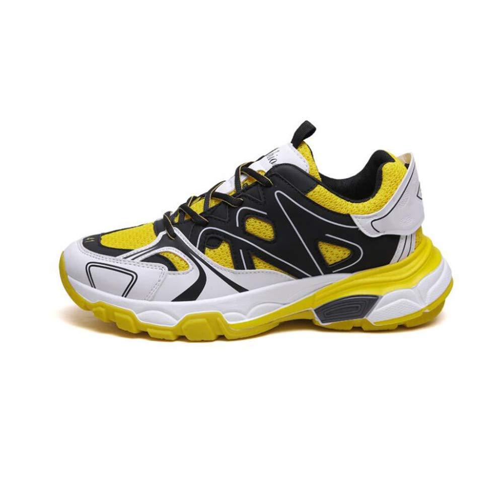 WYX 2019 Herrenschuhe Frühling Neue Männer Casual Walking Schuhe Mesh Mesh Mesh Breathable Sportschuhe Lace-Up Laufschuhe,B,41 4ab1f3