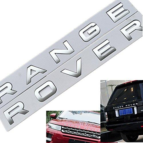 range rover evoque letters - 4