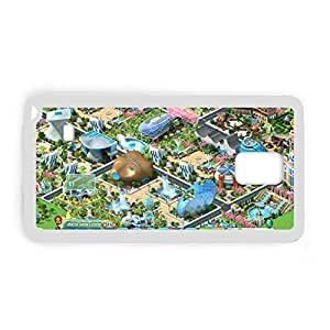 Printing Megapolis For Samsung Note4 Silica Quilted Phone Case For Kid Choose Design 3