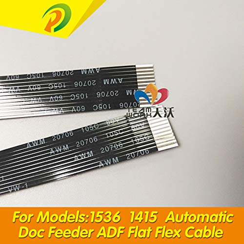 Printer Parts 10PCX CE538-60106 HP M1536 Automatic Doc Feeder ADF Flat Flex Flexible Cable for HP M1536 1415 M175A M1530 ADF Cable ()