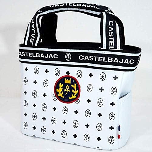 77029 CASTELBAJACカステルバジャック ラウンドバッグ ホワイト 40 サイズ レディース カジュアル 女性 春夏 ゴルフ 通販
