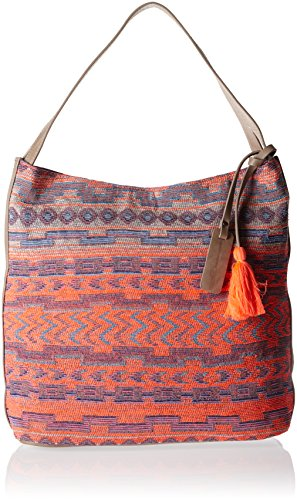 Tom Tailor Denim Carolyn - Bolso de mano, Mujer Multicolor (Multi)