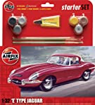 Airfix Jaguar E-Type Starter Gift Set (1:32 Scale) by Hornby