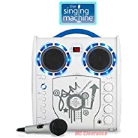 Portable Karaoke CD/CDG Player Singing Machine SML-383YB,...
