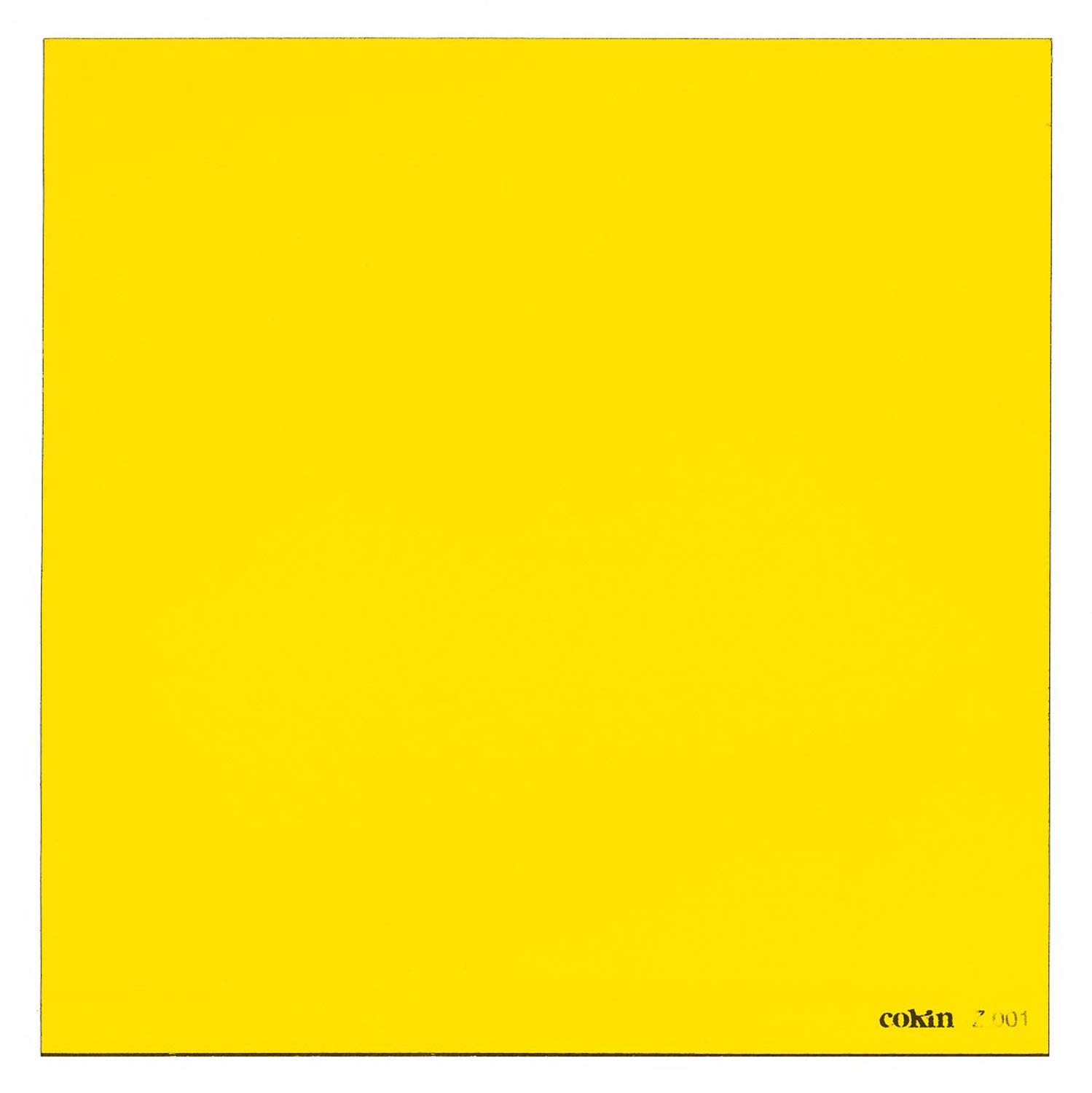 Cokin Yellow (Z001) - 2/3-Stop for L (Z) Series Holder - 100mm X 100mm