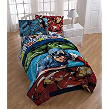 Marvel Avengers Twin Comforter and Sheet Set