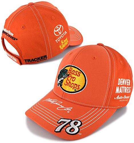 NASCAR Adult Driver/Sponsor Uniform Adjustable Hat/Cap-Martin Truex Jr. #78-Bass Pro Shops