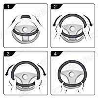 NEW ARRVIAL - CAR PASS Lace Spacer Mesh Steering wheel covers univer for vehicles,Suv,