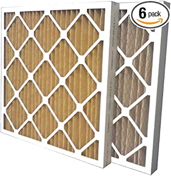 12 Pack 16x16x2 Merv 11 Furnace Filter