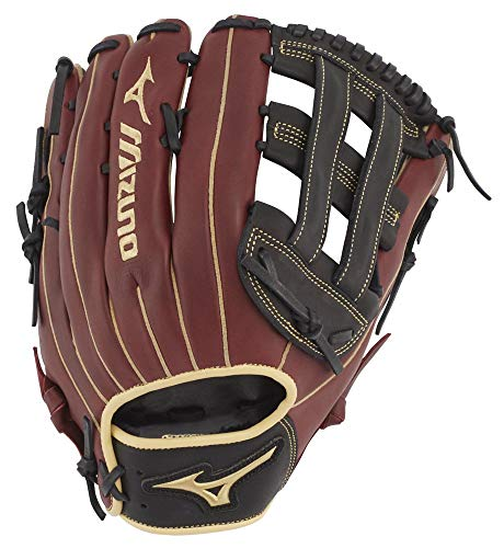 "Mizuno GMVP1300P3BCS MVP Series Slowpitch Softball Gloves, 13"", Right Hand Throw"