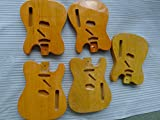 dpaerofly One Tele Guitar Body For Vintage Style ----- 3 piece Swamp Ash