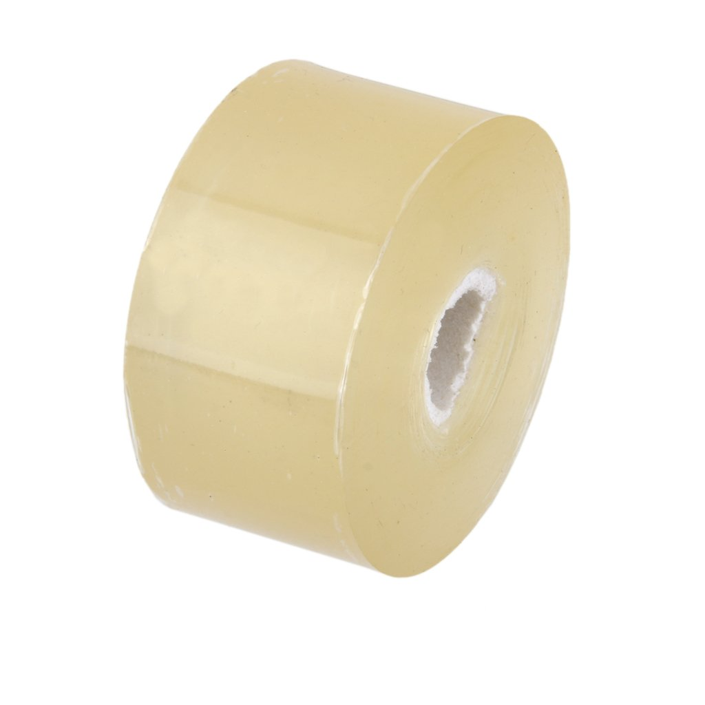 MagiDeal 328FT 3cm Grafting Stretchable Tape Moisture Barrier Plant Repair Clear