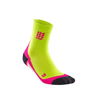 CEP Corto Socks Calcetines Para Mujer Mujer Calcetines Calcetines Running unidad Compression Deportes Calcetines (Lime/rosa, III (37 - 40)): Amazon.es: ...