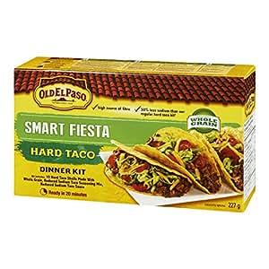 Old El Paso Hard Taco Smart Fiesta Dinner Kit, 227 Gram
