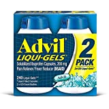 Advil Liquid Gels - Mega Value SP 6 Pack (120 Count Each ) Advil-Pc