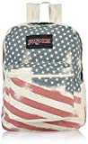 JanSport Backpack Super FX - WHITE FADED STARS BACKPACK Deal (Small Image)