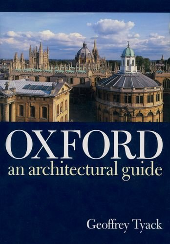 Pdf Engineering Oxford: An Architectural Guide