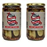 Brooklyn Brine Pickles- New York City Deli Style - 24 oz (2 Pack)