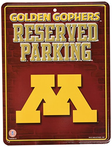 Minnesota Golden Gophers Metal (NCAA Minnesota Golden Gophers Metal Parking Sign)