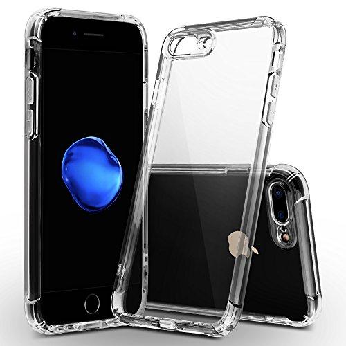 iPhone 8 ケース/iPhone 7 ケース 4.7インチソフトカバー バンパー 透明 TPU 耐衝撃 落下防止 防指紋 全面保護カバー(iPhone 7/8クリア)