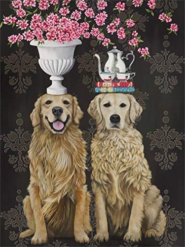 Golden Couple by Heather Gautier Canvas Wall Art, 10 x 14