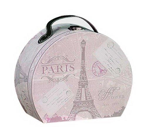 Gentle Meow Candy Box Vintage Birthday Lipstick cosméticos Joyas Mango Caja de Regalo,Torre Eiffel