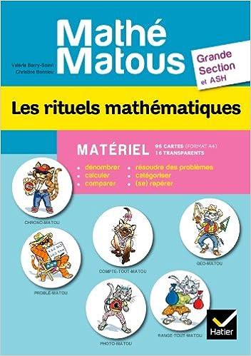 Livres gratuits Mathé-Matous Les rituels mathématiques GS et ASH - Matériel pdf ebook