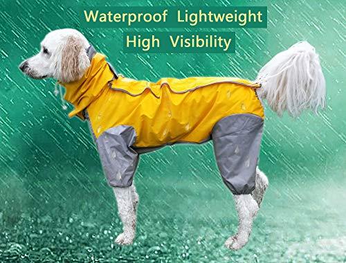 MASKOTA Dog Raincoats Waterproof