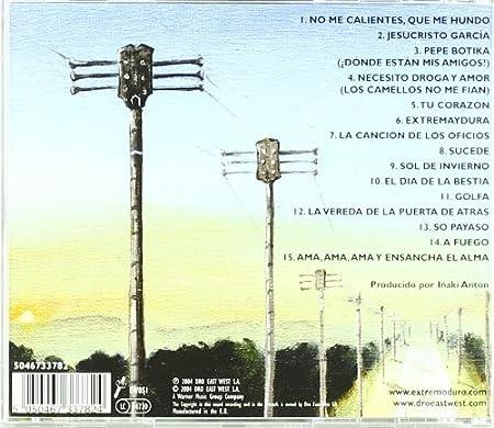 Grandes Exitos y Fracasos: Extremoduro: Amazon.es: Música