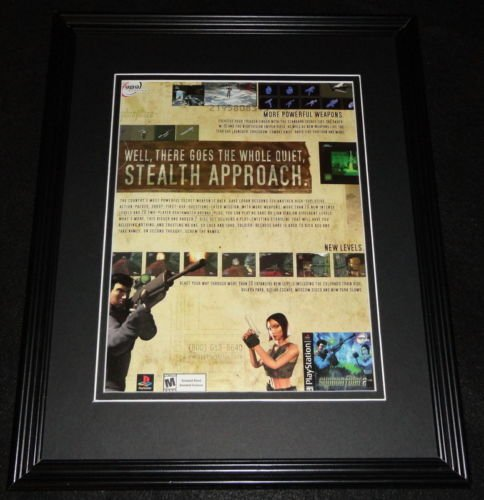 2000 Syphon Filter 2 Framed ORIGINAL Advertisement Playstation
