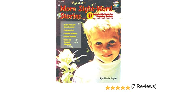 Amazon.com: More Sight Word Stories: 57 Reproducible Books for ...