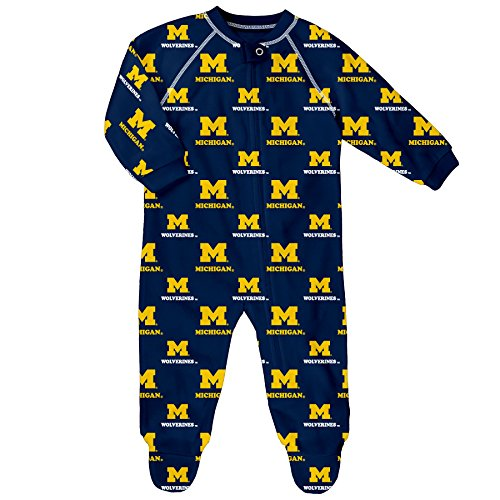 ncaa-michigan-wolverines-raglan-zip-up-coverall-dark-navy-0-3-months