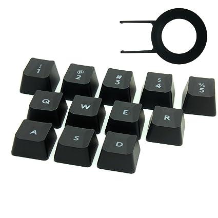 Performance gaming key caps for Logitech G810 G413 G310 K840 G613 Romer-G  Mechanical Keyboard