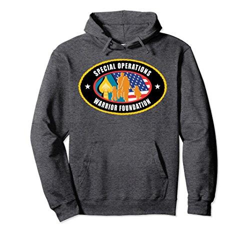Unisex Special Operations Warrior Foundation Hoodie Large Dark ()